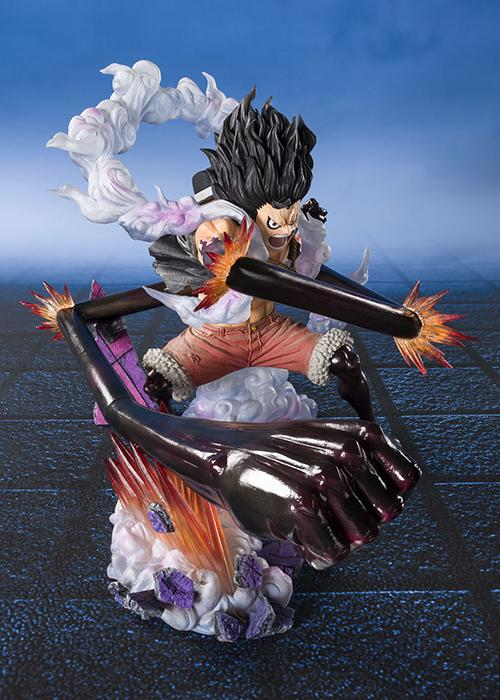 [Tamashii Nations] Figuarts Zero Monkey D.Luffy Fourth Gear - Snake Man King Cobra