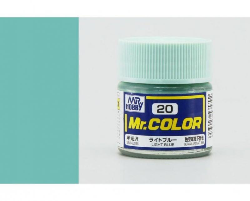 Mr. Hobby-Mr. Color-C020 Light Blue Semi-Gloss (10ml)