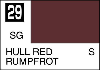 Mr. Hobby-Mr. Color-C029 Hull Red Semi-Gloss (10ml)