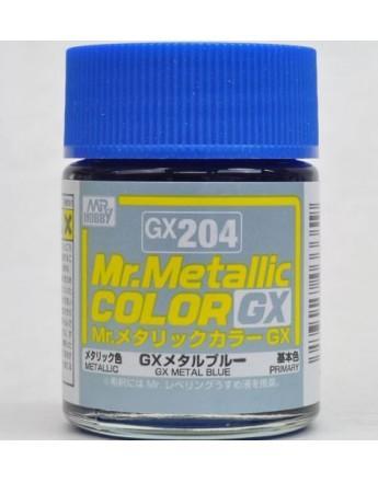 Mr. Hobby-Mr. Color-GX204 Metal Blue (18ml)