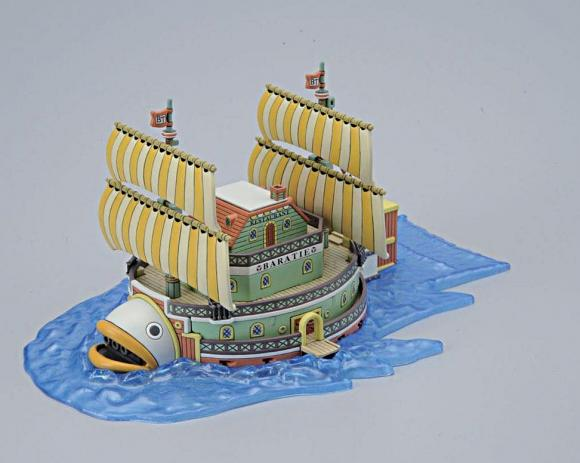 ONE PIECE [10] Baratie (Plastic Kits)