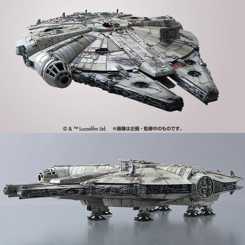 [STAR WARS] 1/144 Millennium Falcon (The Forces Awaken)
