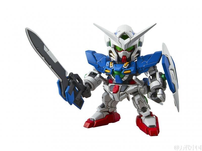 SD Ex-Standard 5 in 1 (RX78-2, Aile Strike, Wing Zero EW, Exia, Unicorn)