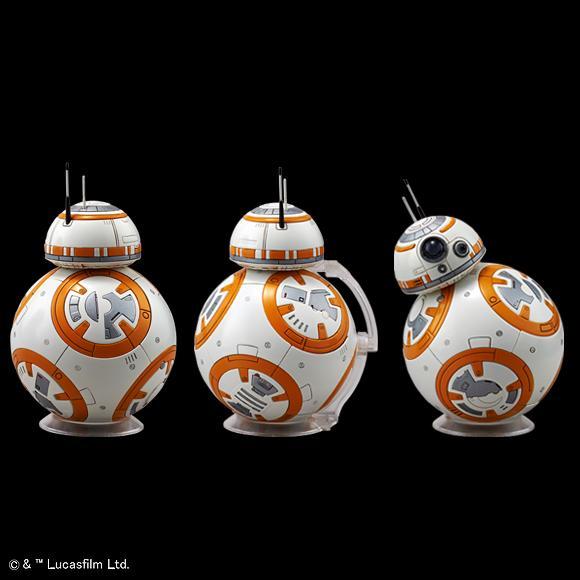 [Star Wars] 1/12 R2-D2 & BB-8