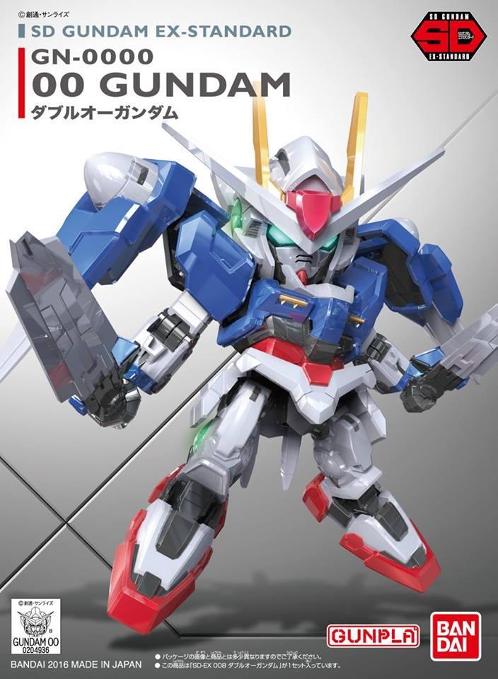 SD Ex-Standard 5 in 1 (Exia,Unicorn,S.Freedom,Red Frame,Gundam 00)