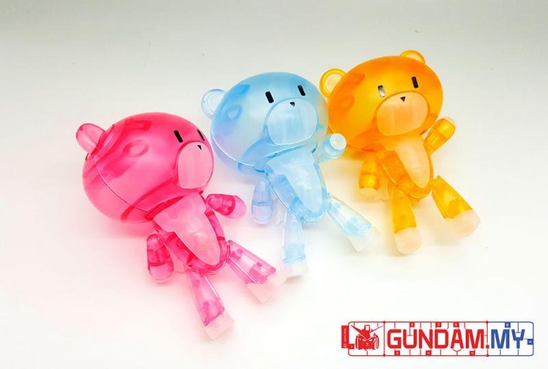 [Dragon Momoko] Little Bear Family Clear Ver. (HG)