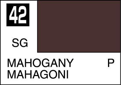 Mr. Hobby-Mr. Color-C042 Mahogany Semi-Gloss (10ml)