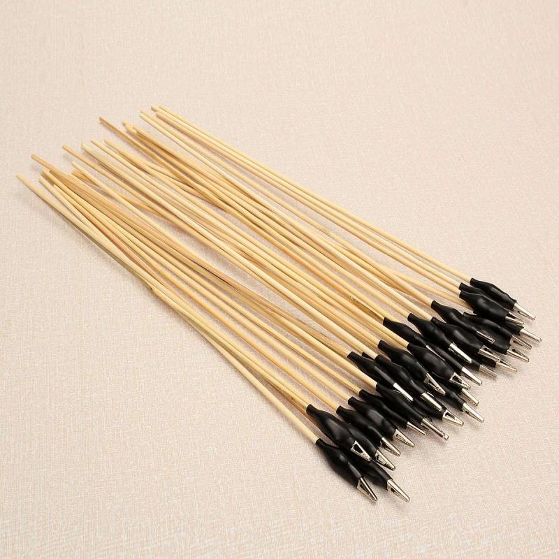 Metal Alligator Clips with sticks for Spray works (20 units 1 set)