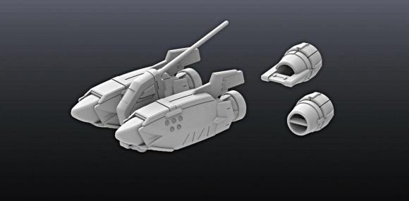 [Builder Parts] Non Scale MS Marine 01