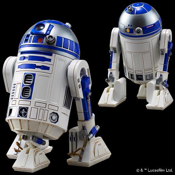 [Star Wars] 1/12 R2-D2 & BB-8 (Plastic model)