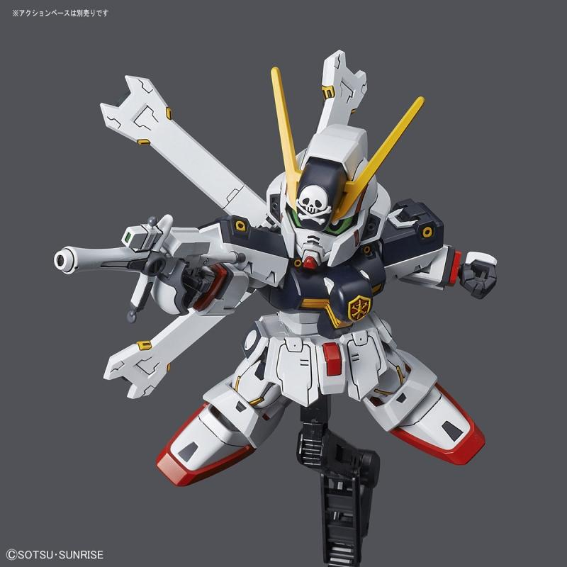 [02] SD GUNDAM CROSS SILHOUETTE CROSSBONE GUNDAM X1