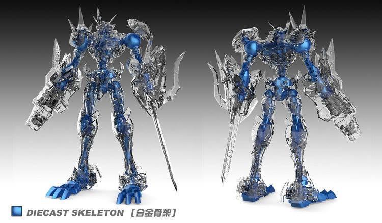 [TongMeng EX] Metal Build Omegamon Omega-X