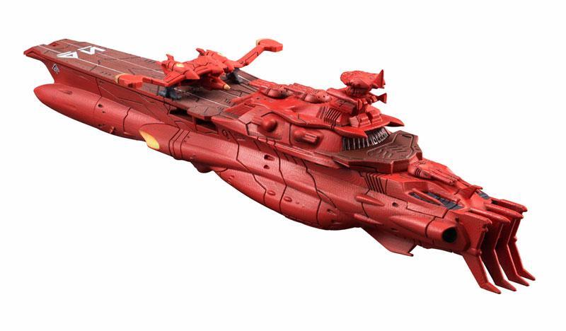 [Battleship Yamato 2199] 1/1000 Gelvades Class Astro Battleship Carrier [Darold]