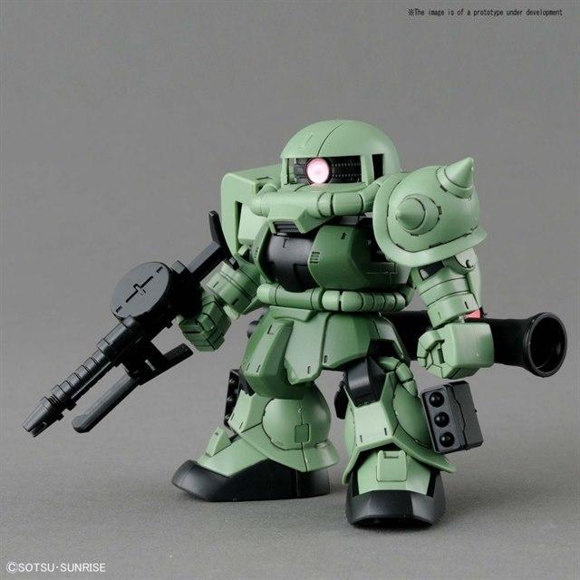[04] SD GUNDAM CROSS SILHOUETTE ZAKU Ⅱ