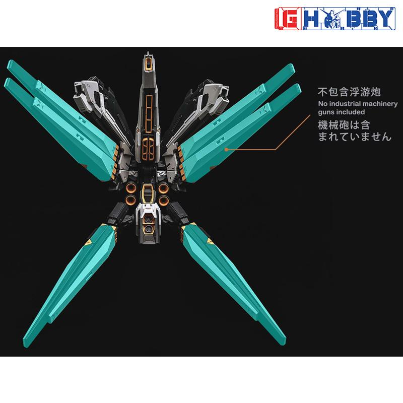 [Rage Nucleon] 1/100 RX-93 v Gundam / Nu Gundam Ver. Ka. High Mobility Backpack (Free Transparent Backpack)
