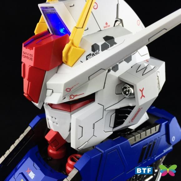 [Gundam Head] BTF 1/24 - Aile Strike Gundam Head Portrait