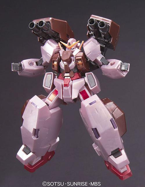 HG 1/144 Gundam Virtue  (Trans-am mode)