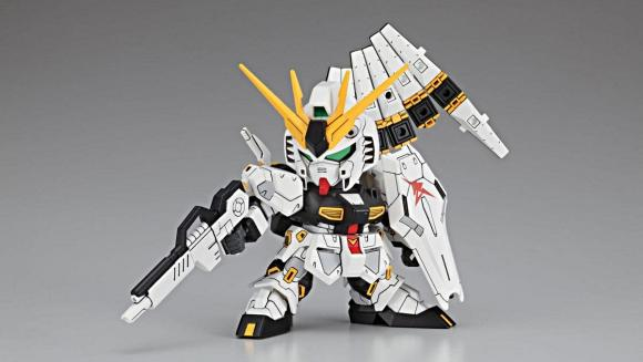 [387] Nu Gundam (SD)