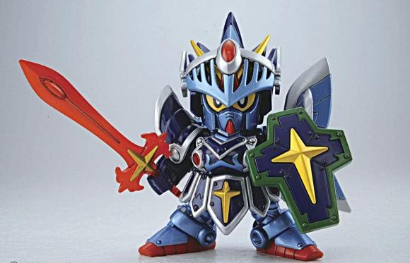 [393] Legend BB Full Armor Knight Gundam (SD)