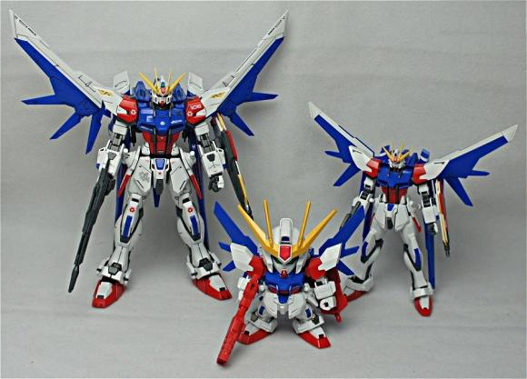 [388] SDBB Build Strike Gundam Full Package
