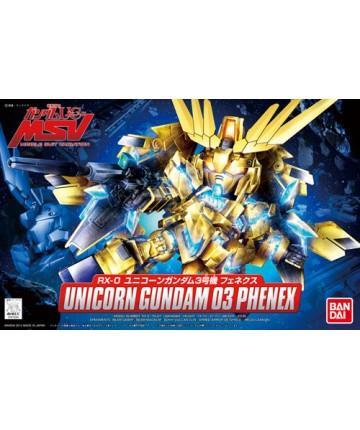 [394] SDBB Unicorn Gundam 03 Phenex