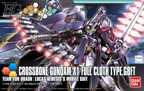 [035] Crossbone Gundam X1 Full Cloth TYPE.GBFT