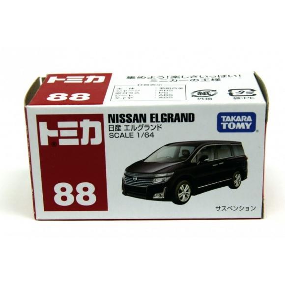 Tommy Takara Diecast vehicle - #88 NISSAN ELGRND