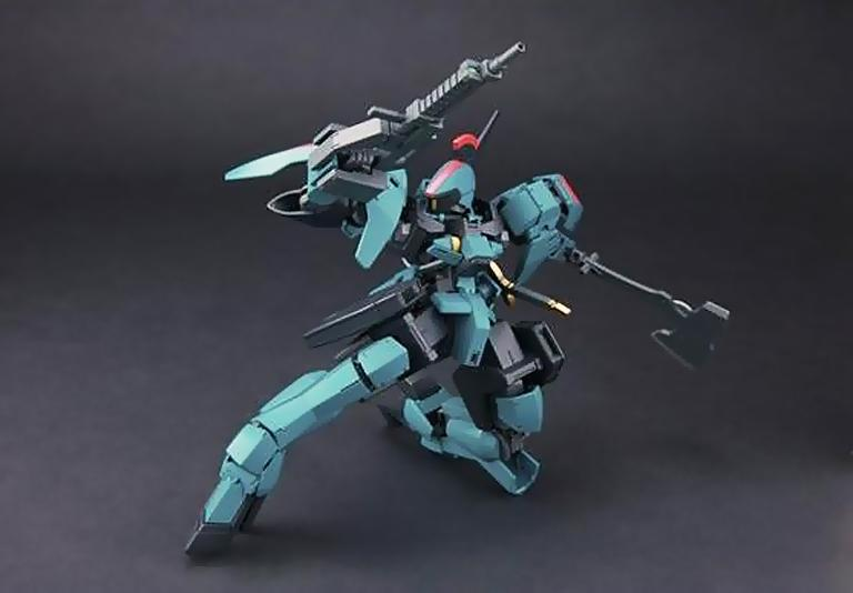 [017] HGIBO 1/144 Graze Ritter (Carta Issue Custom)
