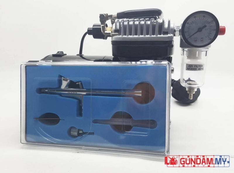 KinKi Mini Air Compressor V-505 with Air Brush