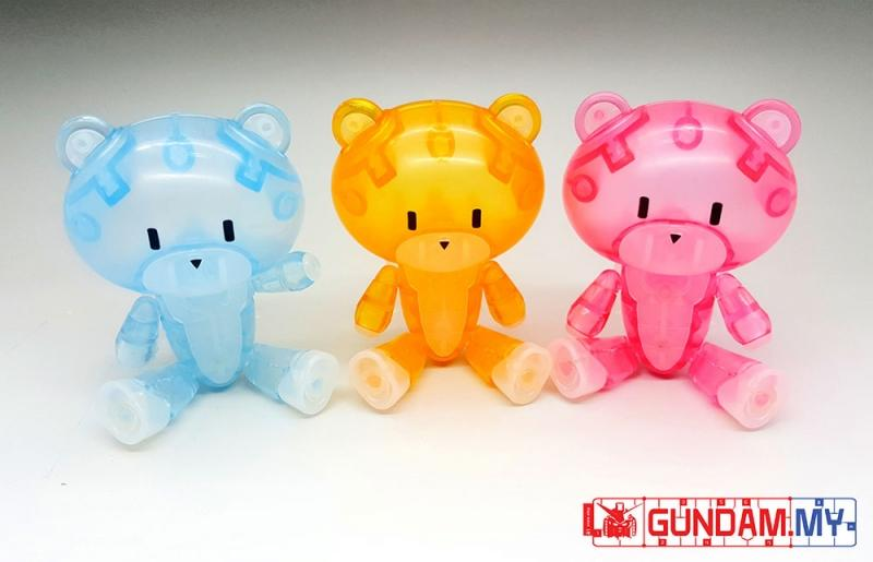 [Dragon Momoko] Little Bear Family Clear Ver. (HG)
