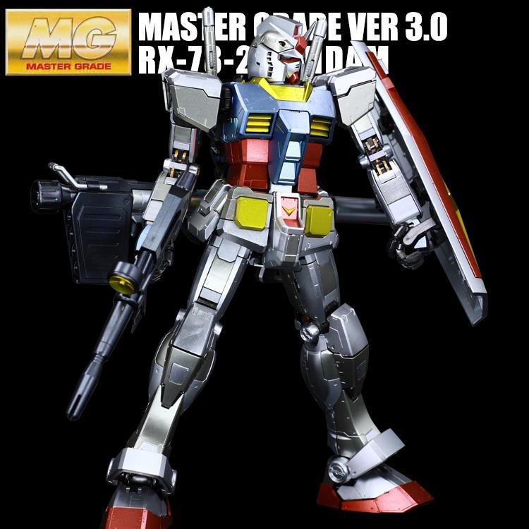 Special Coating : MG 1/100 RX-78-2 Gundam Ver.3.0
