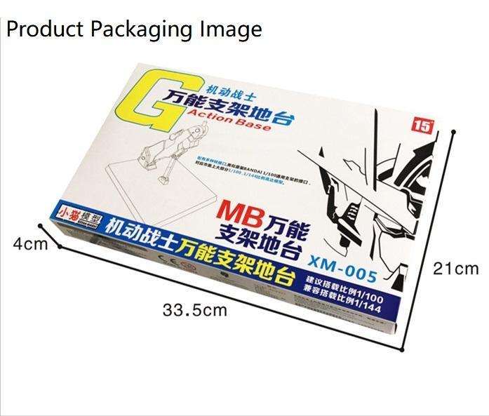 Metal Build Alike Action Base for HG & MG - Gundam 00 Qan T #16