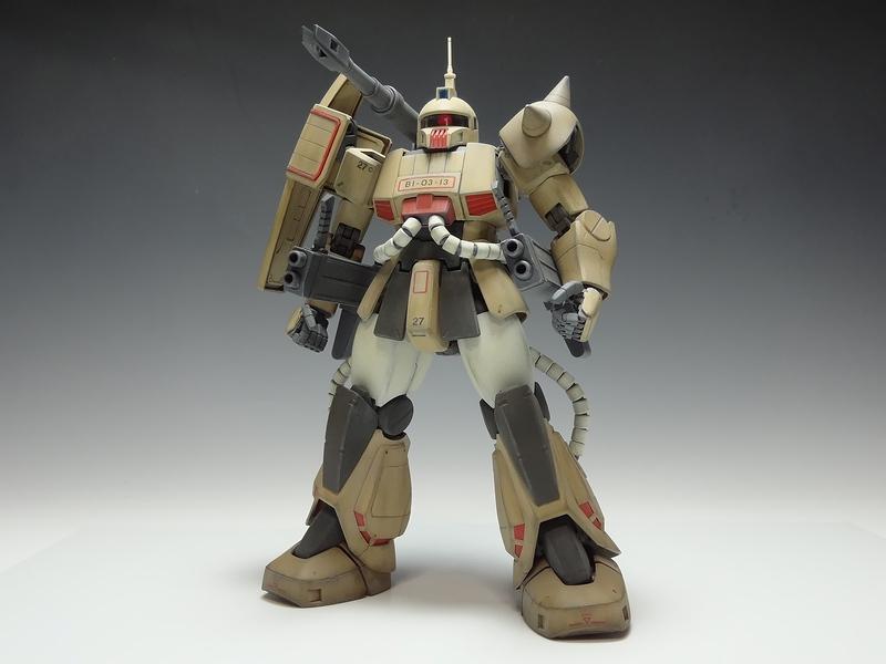 MG 1/100 MS-06K Zaku Cannon