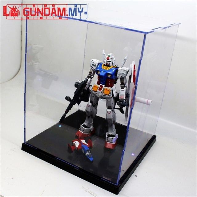 mg hg gundam display case bandai gundam models kits premium shop online bandai toy shop. Black Bedroom Furniture Sets. Home Design Ideas
