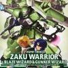 [006] NG 1/100 Zaku Warrior Blaze Wizard & Gunner Wizard