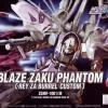 [028] HG 1/144 Blaze Zaku Phantom (Rey Za Burrel Custom)