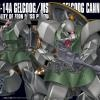 [076] HGUC 1/144 MS-14A Gelgoog / MS-14C Gelgoog Cannon