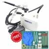 HS08 Mini Airbrush Compressor (Piston Type) Combo with Air brush Pen (Free Basic Painting Tools)