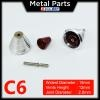 [Metal Part] 1 Pair of 15mm Metal Thruster Red C6 for MG / PG model kits