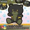 [010] HGPG 1/144 Petitgguy Stray Black & Cat Costume