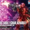 [015] HG ORIGIN 1/144 MS-05 Zaku I (Char Aznable)