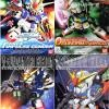 SDBB Gundam 4 in 1 Set ( Zeta, Wing, Force Impulse,0 Gundam )