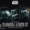 [Star Wars] Vehicle Model Series 007 - Tie Advanced x1 & Fighter Set