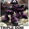 HGUC 1/144 MS09 Triple Dom