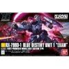[207] HGUC 1/144 Blue Destiny Unit 1 [EXAM]
