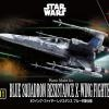 [Star Wars] Vehicle Model Series 011 - Blue Squadron Resistance X-Wing Fighter