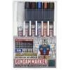 GMS122 Gundam Marker Gundam Pouring Inking Pen Set