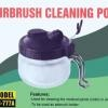 HS-777A Airbrush Cleaning Station Pot