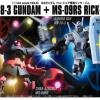 HGUC 1/144 RX-78-3 Gundam + MS-09RS Rick-Dom Char's Custom Set