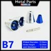 [Metal Part] Metal Thruster / Vents for Gundam Kit (B7, Blue) (2 Units)